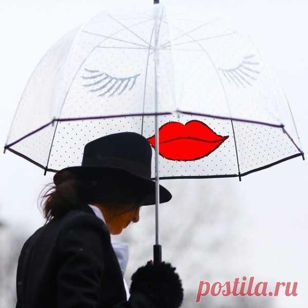 Под таким зонтом никакой дождь не страшен:)