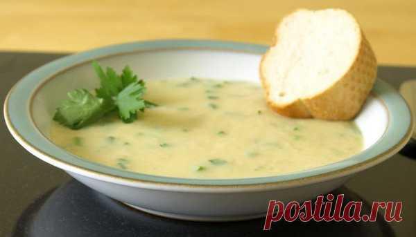Лечебный чесночный суп из 52 зубчиков.