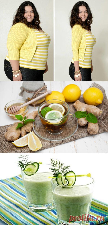 Напиток для похудения имбирь огурец лимон мята рецепт с фото.