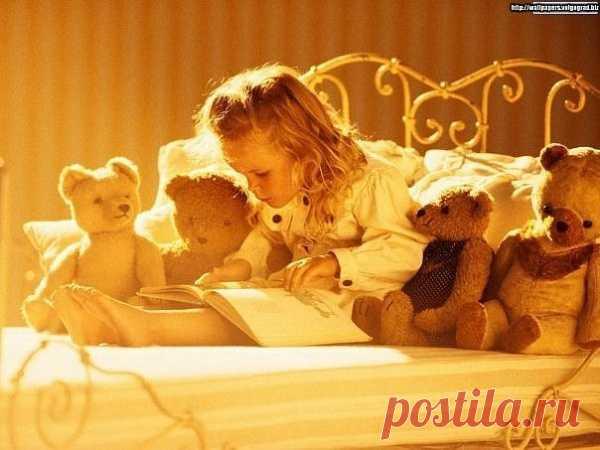 Вечерняя сказка для друзей-мишек