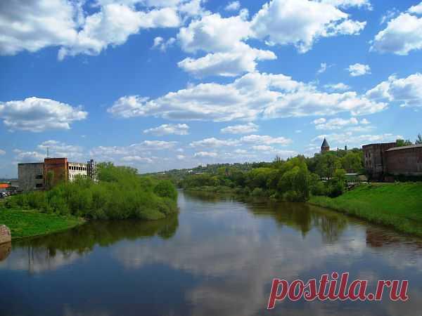 Река Днепр в Смоленске. Вид с моста  River Dnepr In Smolensk  Free Stock Photo HD - Public Domain Pictures