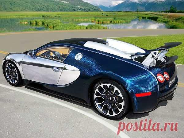 Bugatti Veyron Status Design SD Ultraviolet, 2011 год. Произведен в единственном экземпляре.