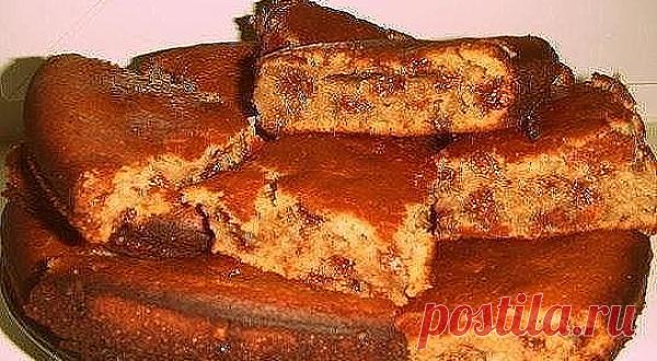Очень быстрый пирог с вареньем — Экономный.