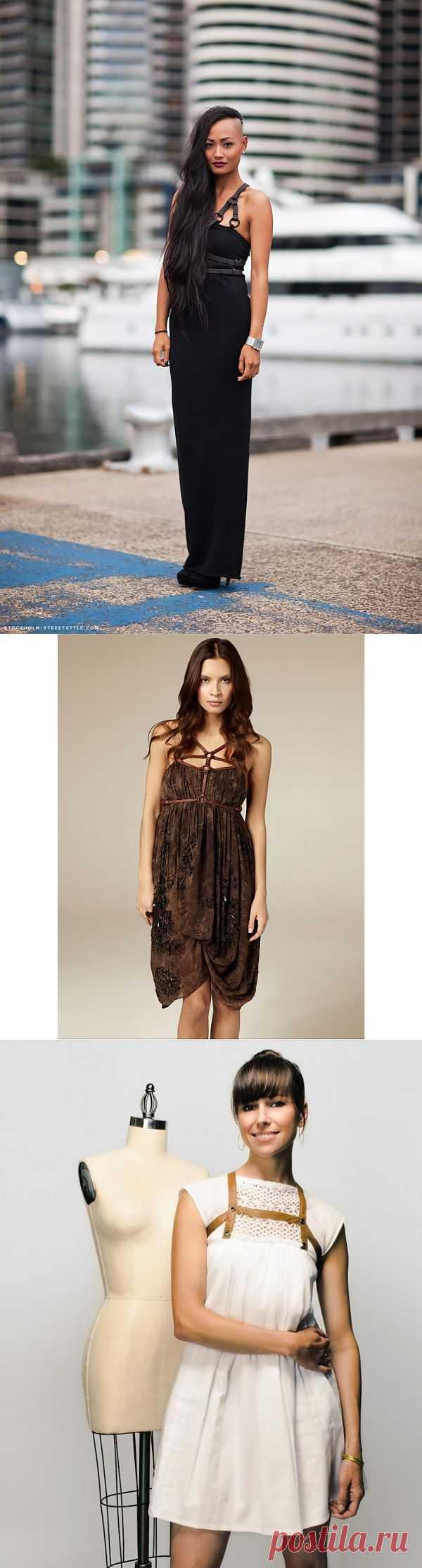 Кожаные лямки (трафик, подборка) / Платья Diy / Модный сайт о стильной переделке одежды и интерьера