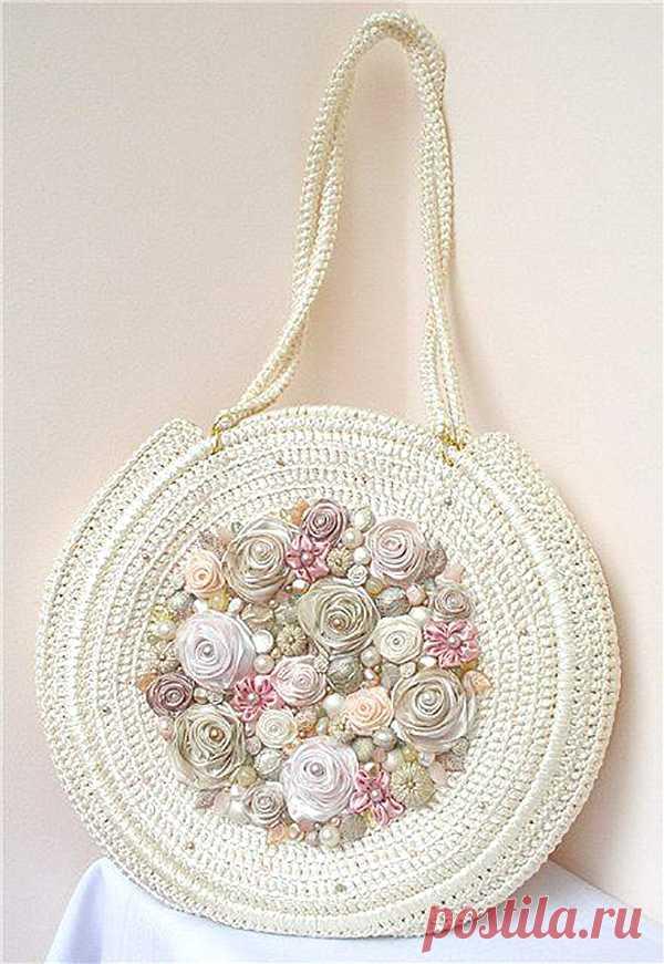 de8f09f1d2e2 Вязаные сумки: богатство фантазии дизайнеров - Ярмарка Мастеров - ручная  работа, handmade