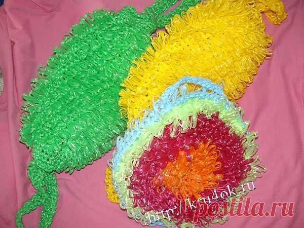 Вязание крючком мочалки - Babyblog.ru