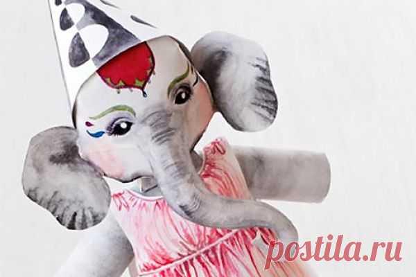 Бумажный цирк