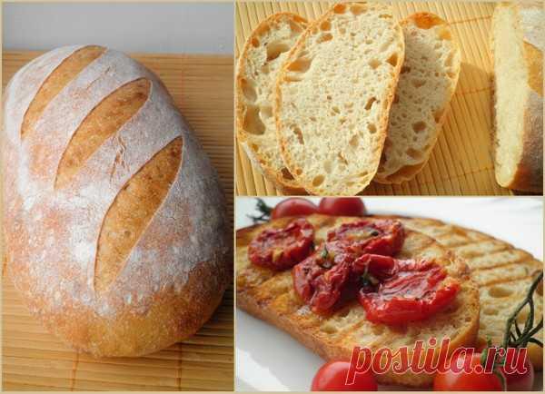Коммунальный хлеб на закваске ( Pane Comune con Lievito Madre)