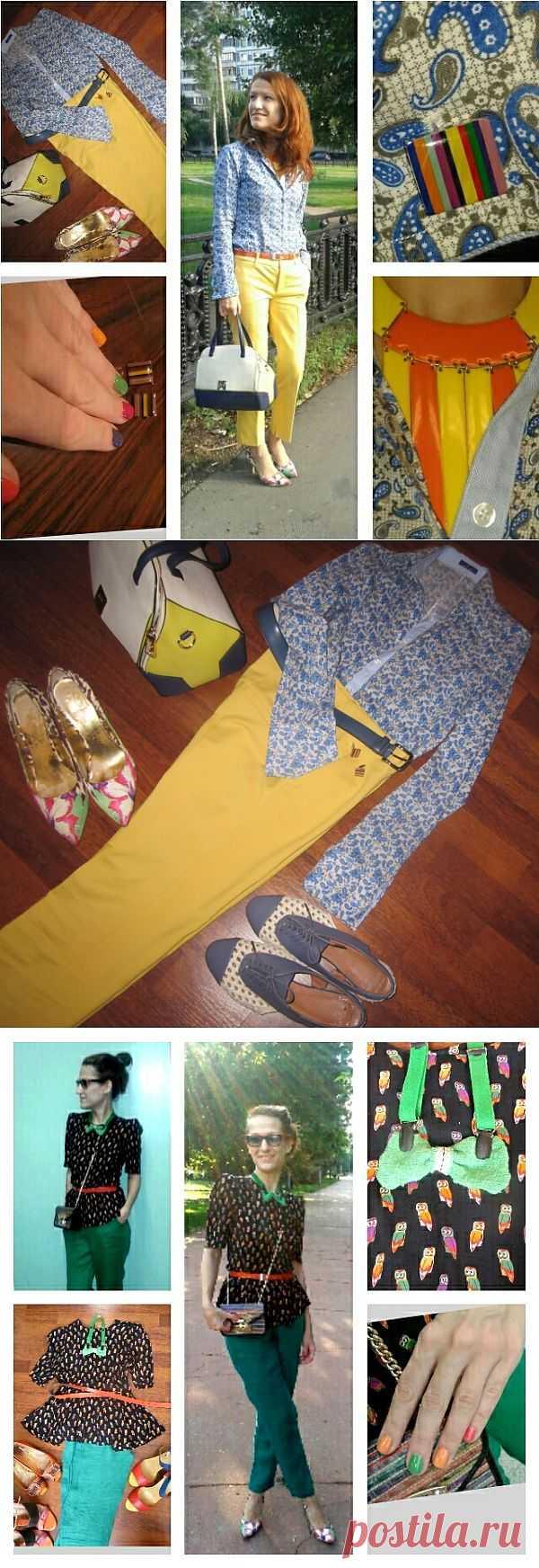 Брючно-рубашечная неделя)) / Ваш стиль / Модный сайт о стильной переделке одежды и интерьера