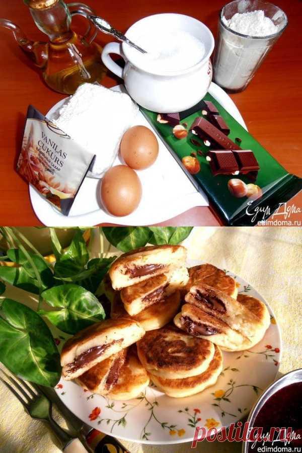 Сырники с шоколадным вулканчиком - праздничный завтрак к 8 марта ...