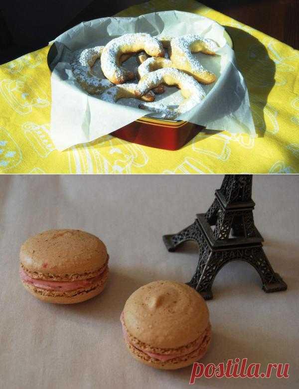 Готовим на желтках: Пирожное и малиновые макаруны