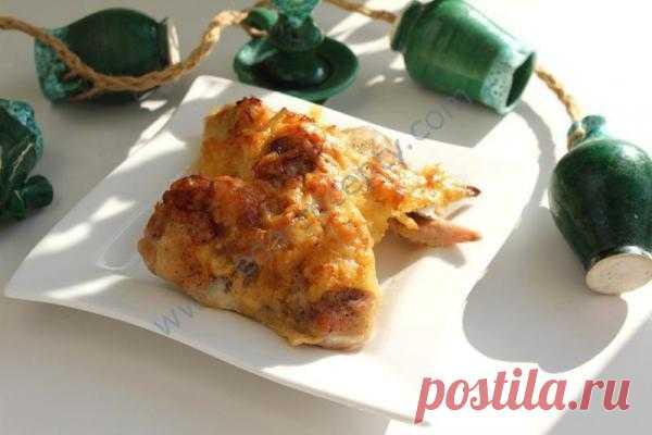 Адаптированный вариант острых куриных крылышек по-мексикански с винным соусом
