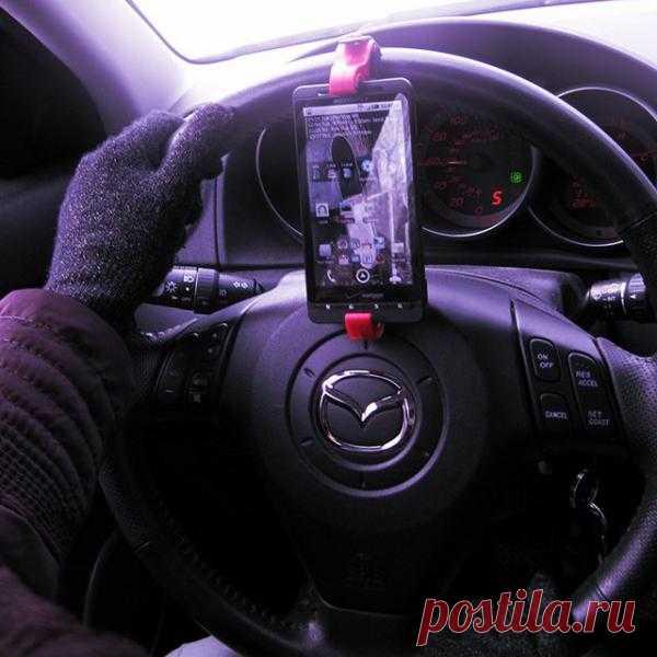 Крепёж смартфона на руль - $20 на Fancy