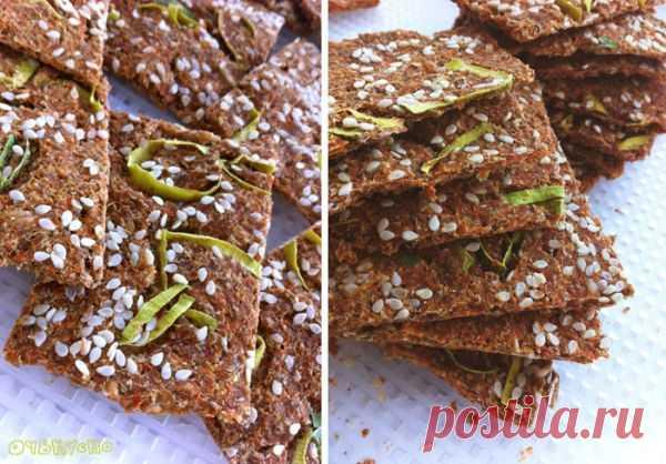 Быстрый полезный рецепт: хлебцы из морковного жмыха — Фактор Вкуса