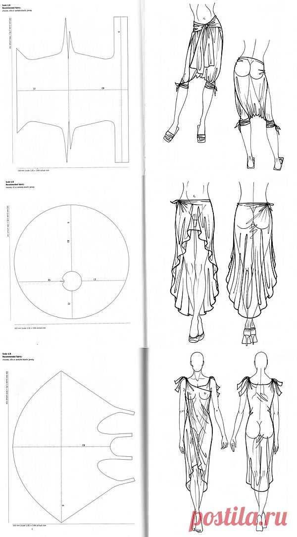 Как сшить одежду без ниток? Легко | Мастер-классы в картинках