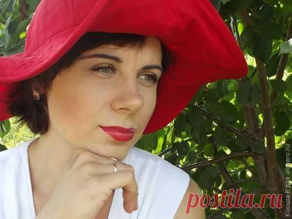 Шьем летние шляпки - МК - luv_vie — ЖЖ