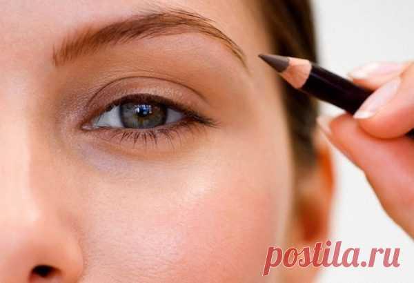 Как покрасить брови карандашом: 6 этапов
