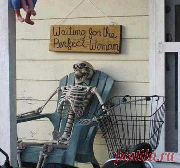 В ожидании идеальной женщины...