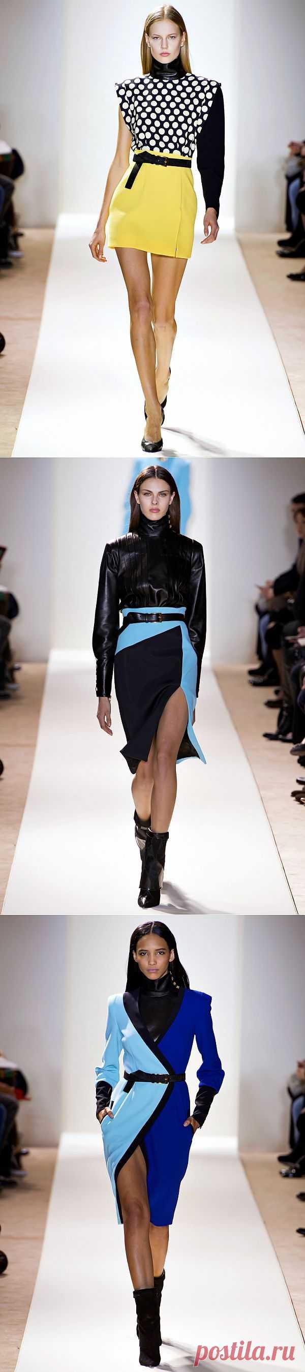 Emanuel Ungaro коллекция Woman FW 13/14 (трафик) / Дизайнеры / Модный сайт о стильной переделке одежды и интерьера