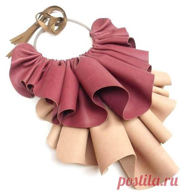 Колье Giulia Boccafogli / Аксессуары (не украшения) / Модный сайт о стильной переделке одежды и интерьера