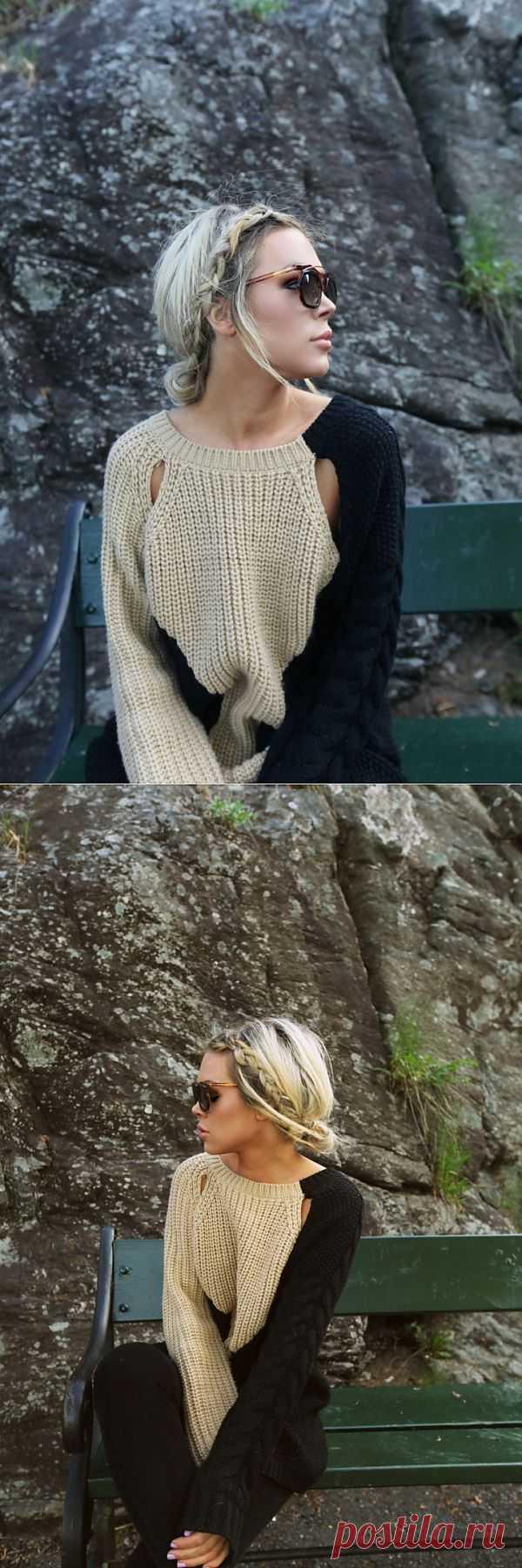 Крутой свитер / Вязание / Модный сайт о стильной переделке одежды и интерьера