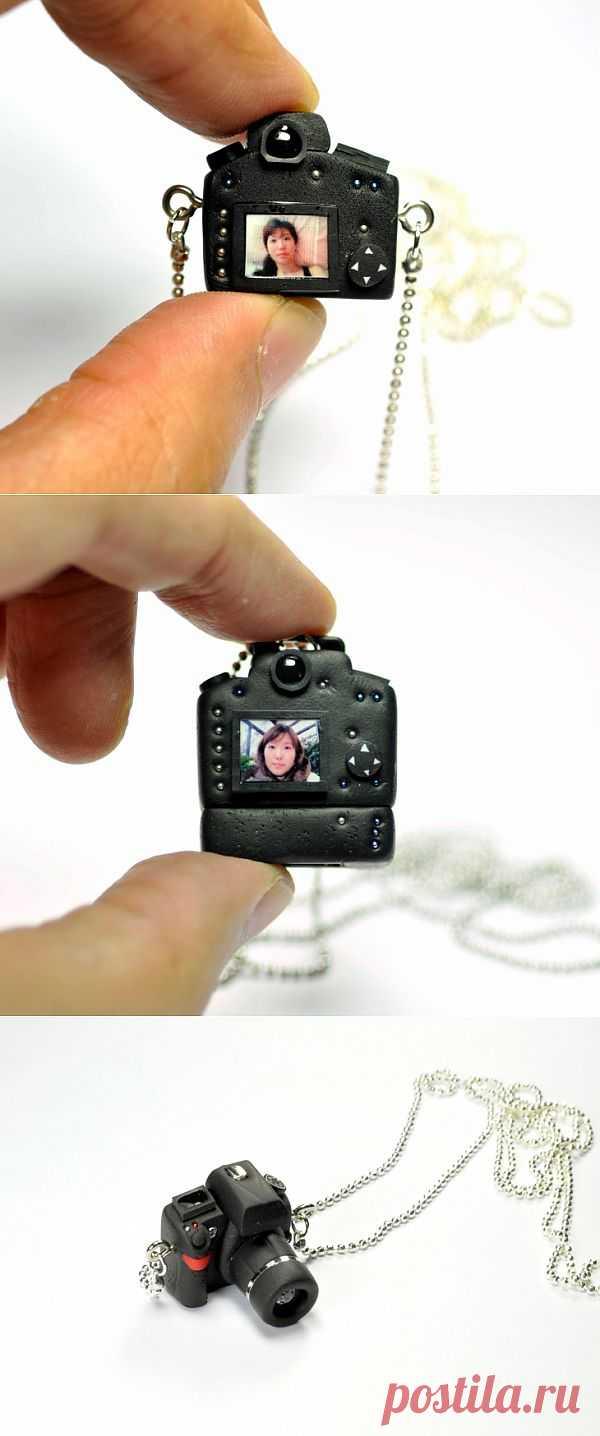 Фотоаппарат как украшение (подборка) / Украшения и бижутерия / Модный сайт о стильной переделке одежды и интерьера