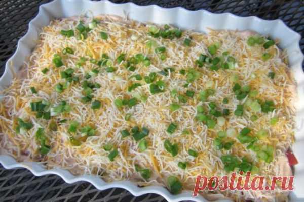 «Генеральский» салат с копченой колбасой и яблоками, рецепт с фото и видео   Вкусные кулинарные рецепты