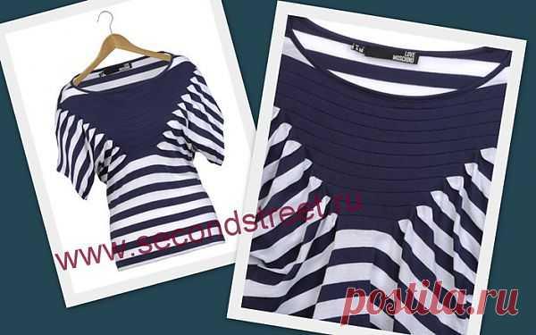 Moschino тельняшка / Тельняшки / Модный сайт о стильной переделке одежды и интерьера