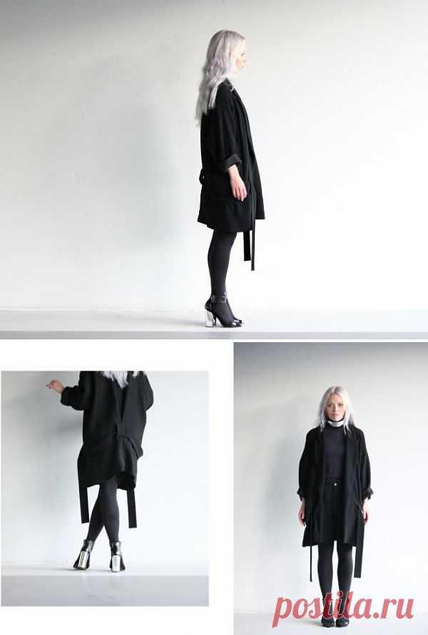 Бегающие шлевки / Пальто и плащ / Модный сайт о стильной переделке одежды и интерьера