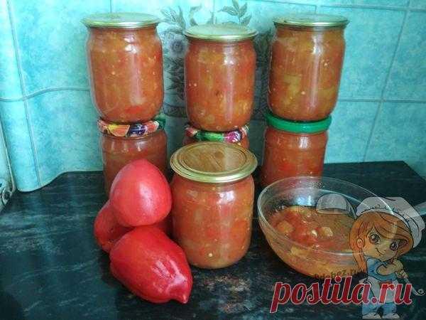 Простое лечо из помидоров и перца: простой и вкусный рецепт с фото