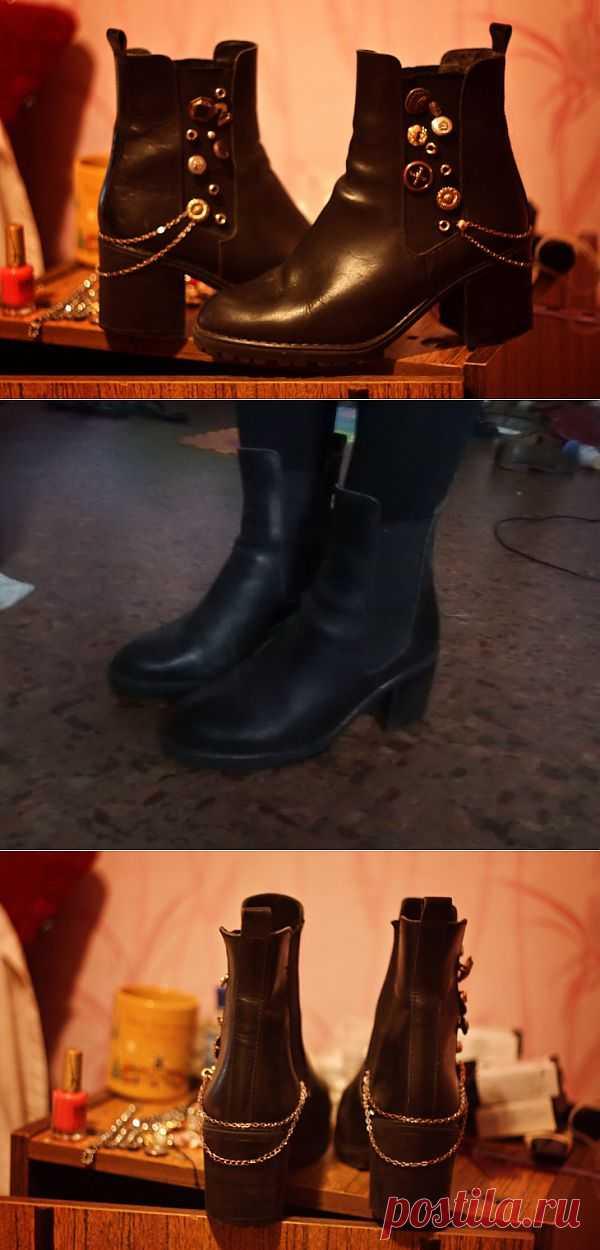 Украшение сапог / Обувь / Модный сайт о стильной переделке одежды и интерьера