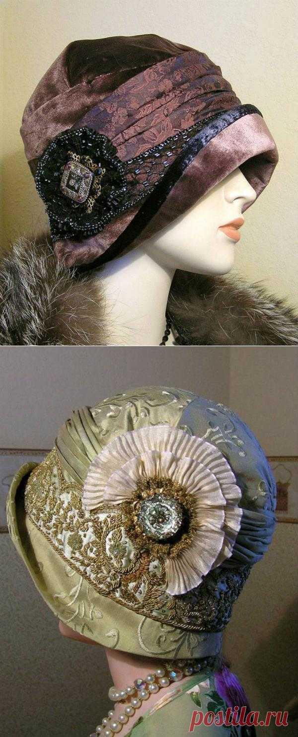 Savannah Parker. Ретро шляпки в стиле ар-деко.