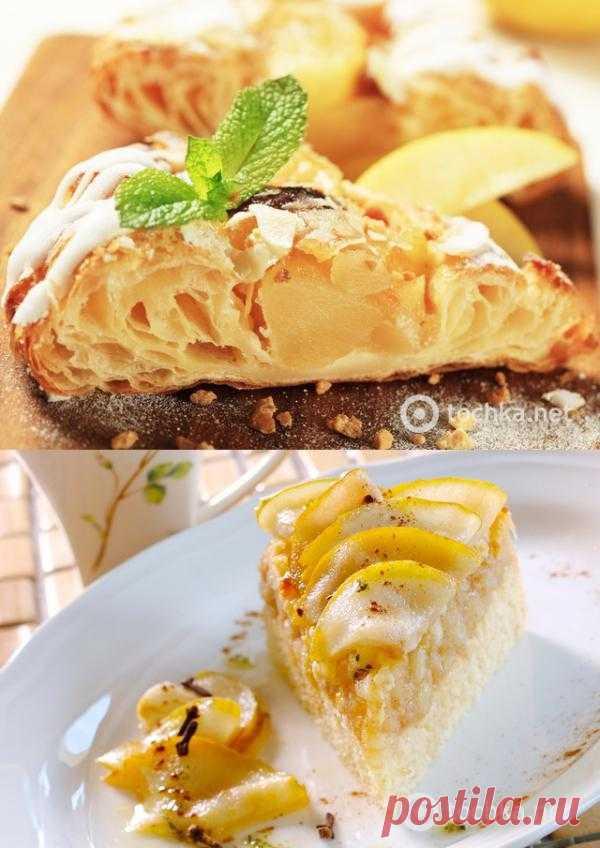 Постные блюда: грушевый пирог с медом