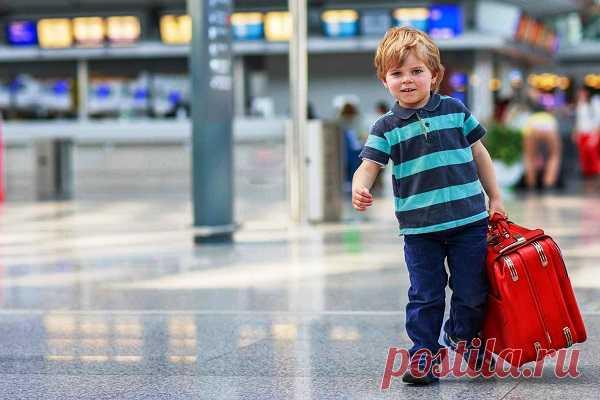 ¿Que es necesario al niño la salida al extranjero?