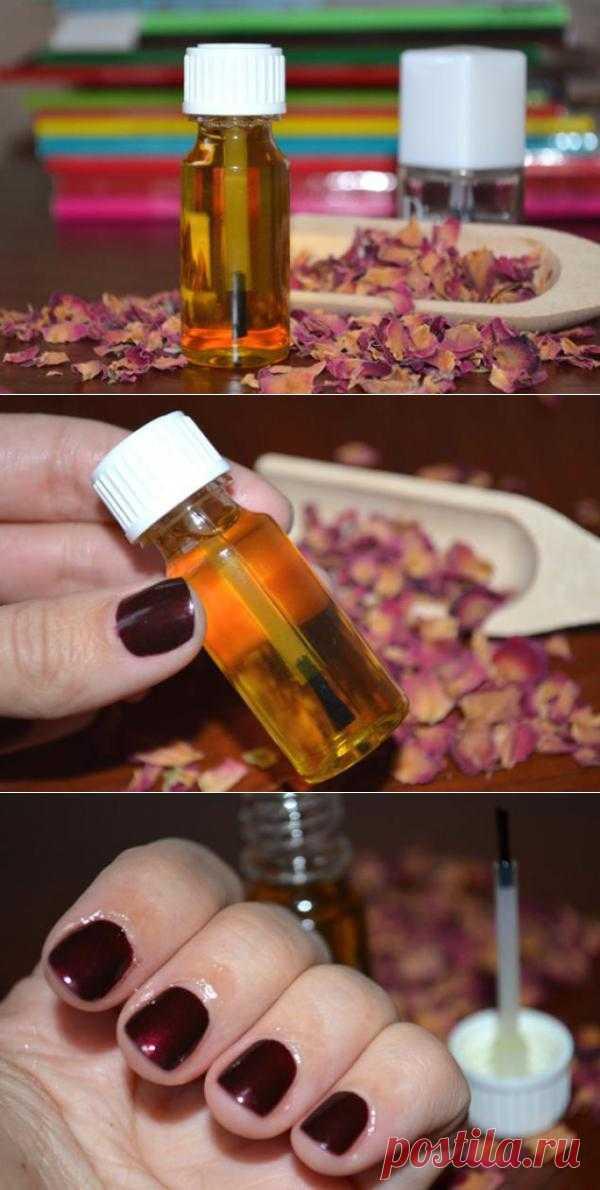 Как сделать косметическое масло для кутикулы и ногтей