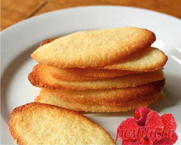 Простое и вкусное французское печенье - Langues-de-chat   ChocoYamma   Яндекс Дзен