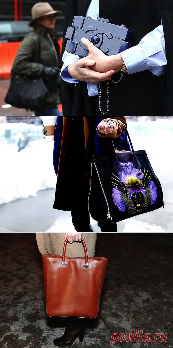 Лучшие сумки Недели моды в Нью-Йорке