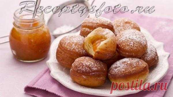 Пончики – Рецепты с фото