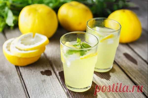 Оказывается 90% людей пьют воду с лимоном неправильно!