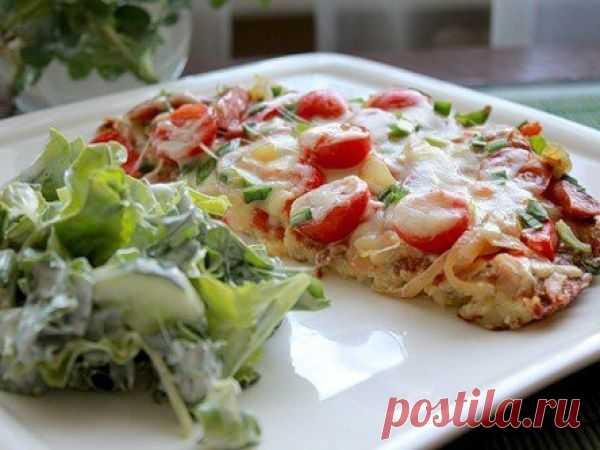 Картофельная пицца на сковороде — vkusno.co