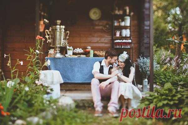Дух свободы: свадьба Андрея и Дарьи - WeddyWood