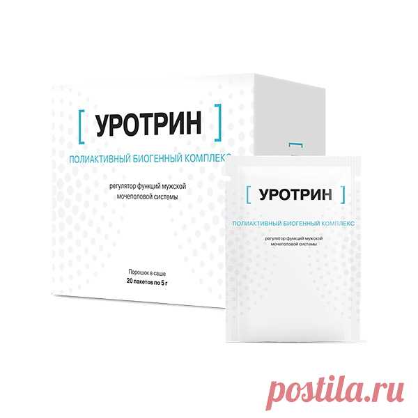Официальный сайт производителя Уротрин от простатита