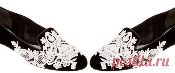 Туфли с кружевом (видео мастер-класс) / Обувь / Модный сайт о стильной переделке одежды и интерьера