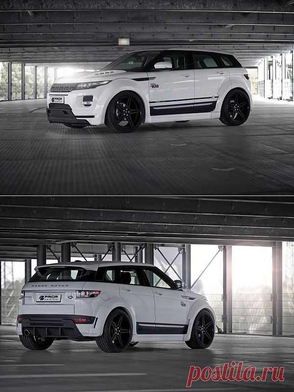 Range Rover Evoque by Prior Design.
