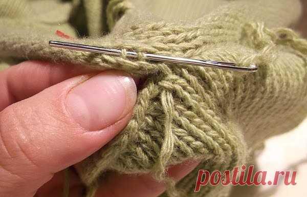 как красиво вшить рукав в вязанное спицами изделие для начала расчет