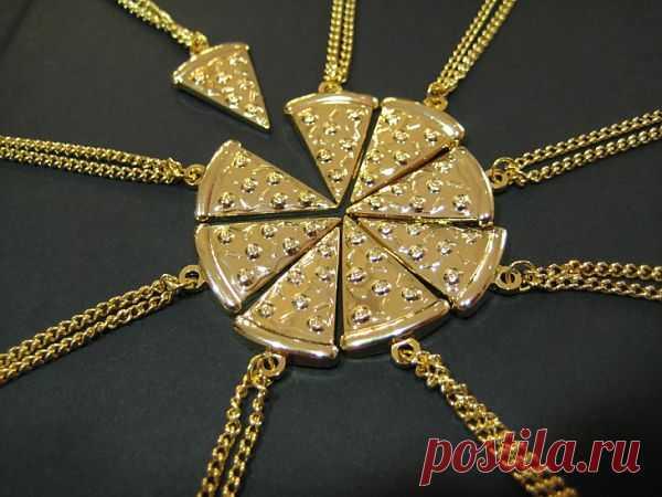 Пиццу не хотите ли? / Украшения и бижутерия / Модный сайт о стильной переделке одежды и интерьера
