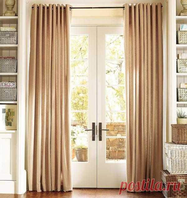 Секреты дизайнеров: трансформируем окна при помощи штор