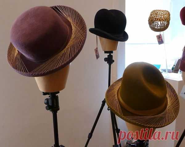 Вот это я понимаю - неожиданный декор шляп! / Головные уборы / Модный сайт о стильной переделке одежды и интерьера