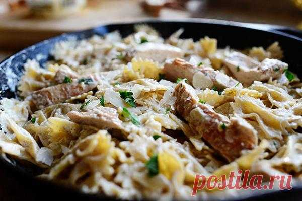Цыпленок Альфредо. Пошаговый рецепт с фотографиями. Это блюдо, которое обречено на успех. Оно не может не получиться.