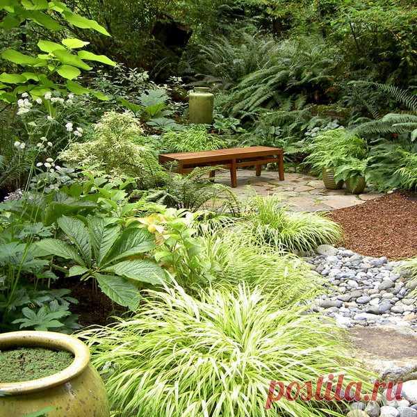 Как создать сад для уединенного отдыха, 16 идей и 65 фото В любом саду должно быть идеальное место для уединенного отдыха. Какие выбрать элементы и растения. Полное руководство о создании садового уголка релакса.